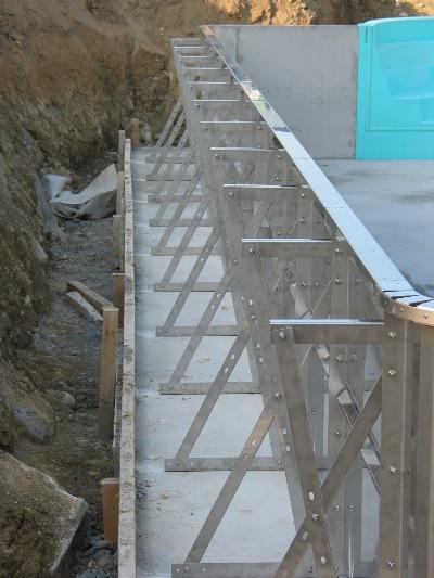 La qualit de l inox se justifiant pleinement pour assurer - Construction piscine pas cher ...
